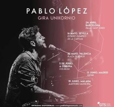 Gira Unikornio de Pablo López