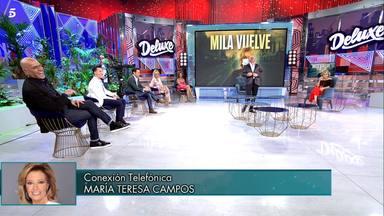 Deluxe: Marái Teresa Campos enfadada con Jorge Javier Vázquez
