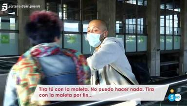 Jose Antonio Avilés discute con su madre