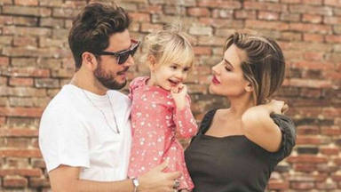 Manuel Carrasco y Almudena Navalón celebran el tercer cumpleaños de su hija Chloe