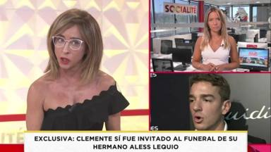 Antonia Dell'Atte Ana Obregón funeral Álex Lequio