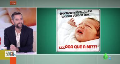 Dani Mateo hablando del bebé de Valeria Ros