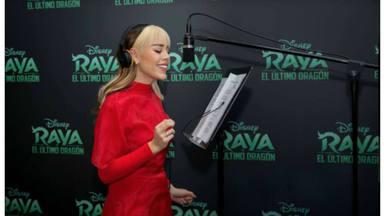 Danna Paula se unirá al cine para poner voz a una de las canciones principales de 'Raya y el Último Dragón'
