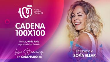 Sofía Ellar se abrirá con Mateo & Andrea en CADENA 100x100