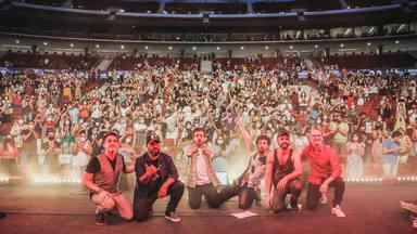 Funambulista y Marwán hicieron real su promesa con el concierto conjunto del Estadio Metropolitano de Madrid