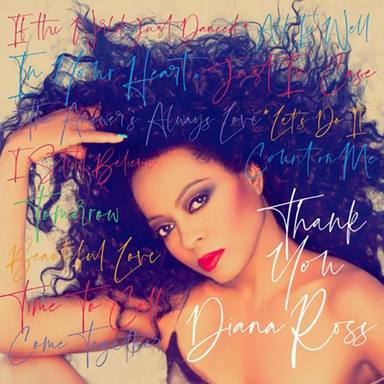 Portada del disco de Diana Ross