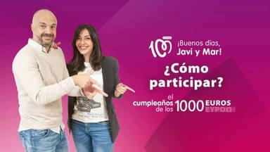 Conoce a nuestros ganadores de la semana en el cumpleaños de los 1.000 euros de CADENA 100