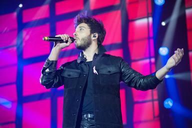 Blas Cantó exhibe magia y carisma en el último concierto de su gira antes de Eurovisión