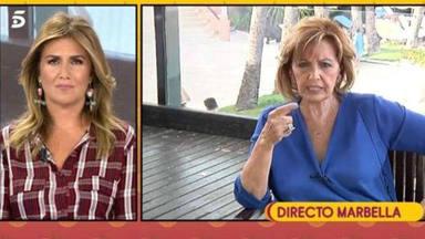 Carlota Corredera preocupa con sus palabras sobre el estado de María Teresa Campos: ''Es complicado''