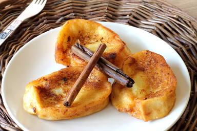 Receta de torrija con pan brioche