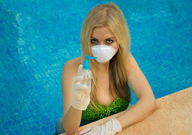 El coronavirus y el peligro en la playa