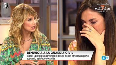 Emma García arropa a Isabel Rábago en su semana más difícil tras recibir amenazas