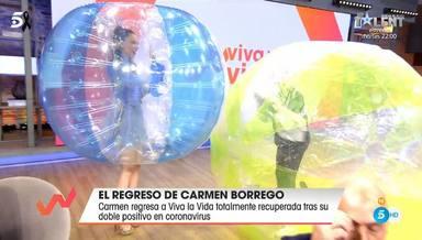 Carmen Borrego se reencuentra con su sobrina Alejandra Rubio en Viva la vida