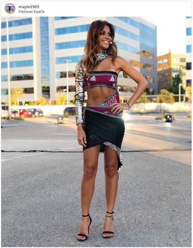 Lara Álvarez en la final de Supervivientes