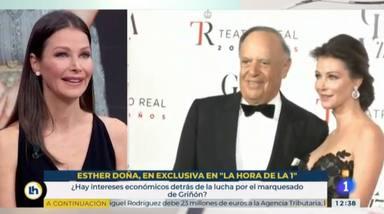 Esther Doña contra Tamara Falcó por su título de marquesa
