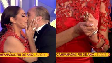 Isabel Pantoja le arrebató a Kiko Rivera la medalla de Paquirri que le regaló en las Campanadas
