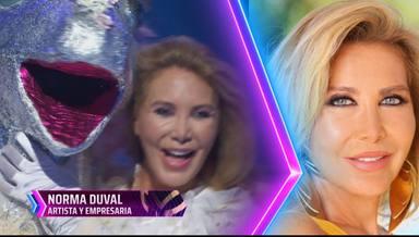 Norma Duval explica que no hay actores tras los disfraces en Mask Singer