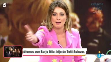 Sandra Barneda tremendo enfado con Torito en 'Viva la vida'