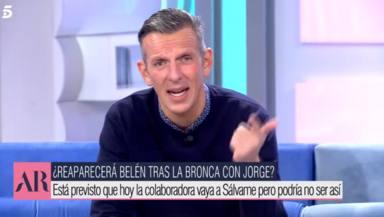 El recado de Joaquín Prat a Belén Esteban por su último enfado con Jorge Javier Vázquez: Se difumina