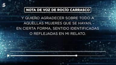 Rocío Carrasco decide comunicar sus primeras palabras tras todo lo que ha supuesto su documental
