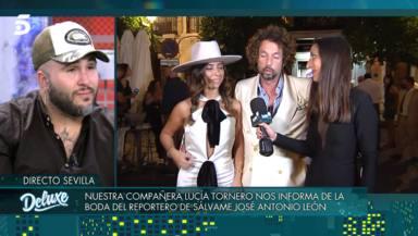 """El conmovedor mensaje de Paz Padilla a José Antonio León tras su boda: """"Su historia es parecida a la mía"""""""
