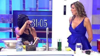Paz Padilla junto a Chabelita Pantoja en el estreno de la segunda edición de La última cena