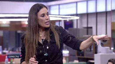 Isabel Rábago se defiende de los duros ataques de Miguel Ftigenti en Secret Story