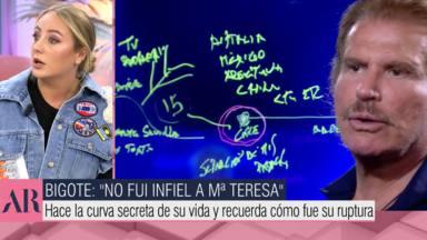Rocío Flores manda un recadito a Bigote Arrocet