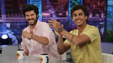 Willy Bárcenas y Antón Carreño en 'El Hormiguero'