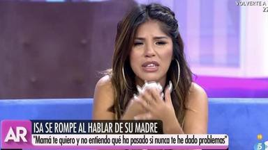 Isa Pantoja llora al habar a su madre en 'El programa de Ana Rosa'