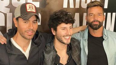 Enrique Iglesias, Ricky Martin y Sebastián Yatra se unen en una gira inédita
