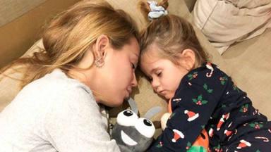 Yoli, preocupada por su hija tras aparecerle un hematoma en el dedo