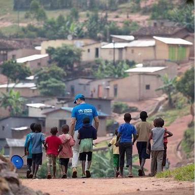 Jesus Vázquez viaja con Acnur a campos de refugiados