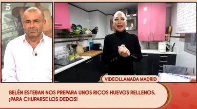 Belén Esteban se sincera en Sálvame y cuenta que vive separada de su marido Miguel durante la cuarentena