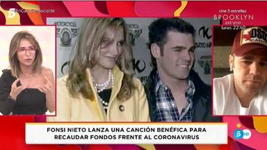 Fonsi Nieto manda un mensaje a su hijo y a Alba Carrillo en Socialité