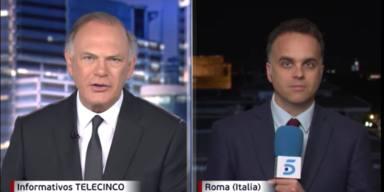 Informativos Telecinco explican el ovni