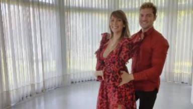 David Bisbal y Rosanna Zanetti, complicidad absoluta bailando la versión salsa de 'Si tú la quieres'