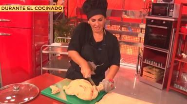 La última cena: Anabel Pantoja y el pollo