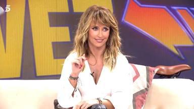Emma García se queda en shock al ver imágenes de sus inicios en televisión