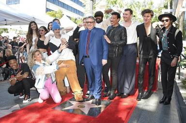 CA: Sir Lucian Grainge Honored With Star On The Hollywood Walk Of Fame Ceremony