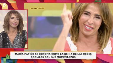 María Patiño se toma con humor sus errores