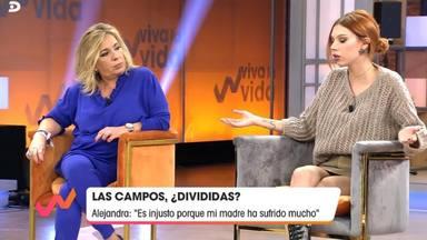 Verdadero motivo enfado Alejandra Rubio con Carmen Borrego