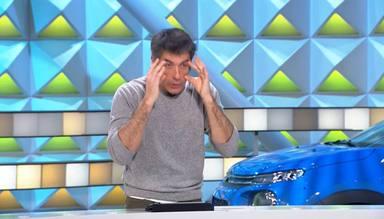 Jorge Fernández, obligado a parar el programa y rectificar tras un error en directo: ¿Me pongo gafas?