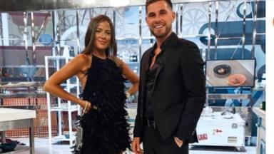 Tom Brusse y Melyssa Pinto en 'La Última Cena'