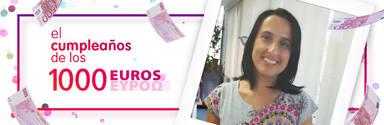 ¡Susana Vicent de Valencia ha ganado 1.000 euros!
