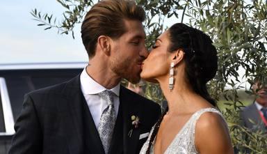 La inusual boda de Sergio Ramos y Pilar Rubio, al detalle