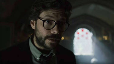 Álvaro Morte encarna a El Profesor en 'La casa de papel 3'