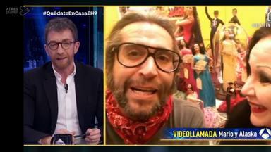 Mario Vaquerizo deja a todos con la boca abierta con su nuevo cambio de look en 'El Hormiguero'