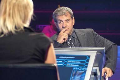 Carlos Sobera como presentador de Quien quiere ser millonario