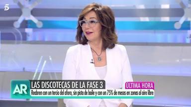 Ana Rosa Quintana habla sobre sus kilos coronavirus